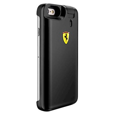 Ferrari Scuderia Black Eau De Toilette Cover Iphone + Ricarica