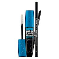 MASCARA BOMB! SUPER VOLUME WATERPROOF + MATITA OCCHI