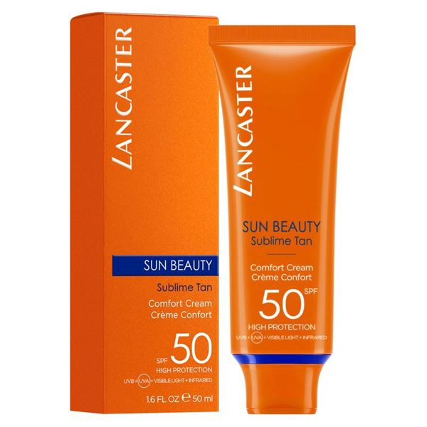 Lancaster Sun Beauty Sublime Tan Comfort Cream SPF 50 - 50 ML