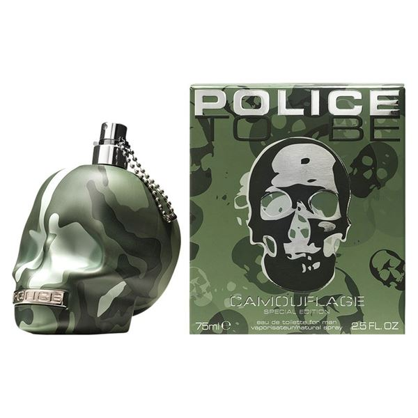 Police To Be Camouflage Eau De Toilette - Spray 75 ML