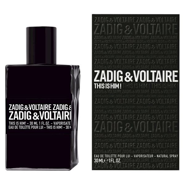 Zadig & Voltaire This Is Him! Eau De Toilette - Spray 30 ML
