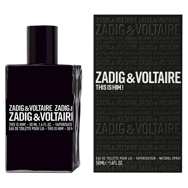 Zadig & Voltaire This Is Him! Eau De Toilette - Spray 50 ML
